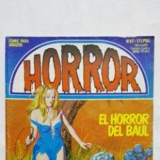 Cómics: HORROR, Nº 62, EL HORROR DEL BAUL, AÑO 1984. Lote 171747700