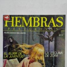 Cómics: HEMBRAS PELIGROSAS, Nº 57, LA ESCLAVA DE ZORA, AÑO 1984. Lote 171747785