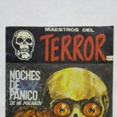 Cómics: MAESTROS DEL TERROR, Nº 4 - NOCHES DE PANICO DE VLADIMIR POLAKOV, AÑO 1985. Lote 171748167