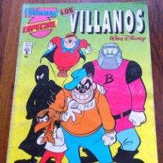 Fumetti: DISNEY ESPECIAL Nº46 LOS VILLANOS EDITORIAL ABRIL CINCO 1994. Lote 171795900