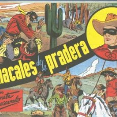 Cómics: LONE RANGER: FACSIMIL: EL LLANERO SOLITARIO: LOS CHACALES DE LA PRADERA. Lote 55608977