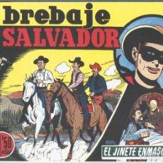 Cómics: LONE RANGER: FACSIMIL: EL LLANERO SOLITARIO: EL BREBAJE SALVADOR. Lote 55608981
