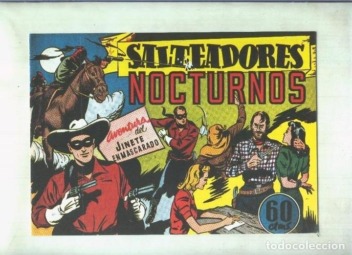 LONE RANGER: FACSIMIL: EL LLANERO SOLITARIO: SALTEADORES NOCTURNOS (Tebeos y Comics Pendientes de Clasificar)