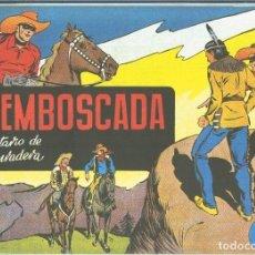 Cómics: EL LLANERO SOLITARIO (LONE RANGER) FACSIMIL: LA EMBOSCADA. Lote 171805170