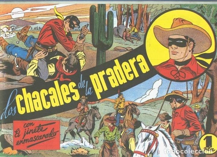 EL LLANERO SOLITARIO (LONE RANGER) FACSIMIL: LOS CHACALES DE LA PRADERA (Tebeos y Comics Pendientes de Clasificar)
