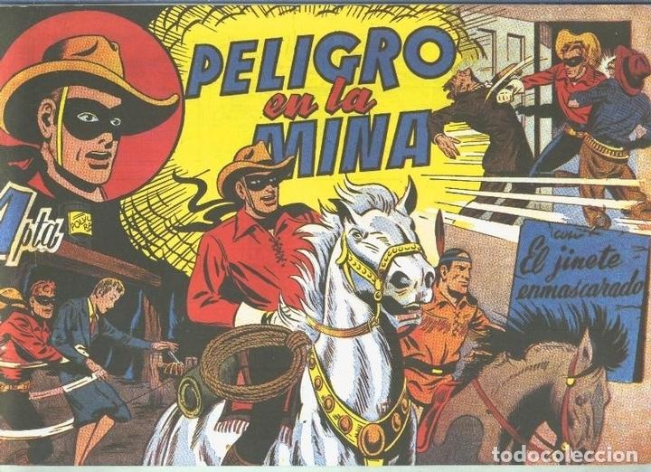 EL LLANERO SOLITARIO (LONE RANGER) FACSIMIL: PELIGRO EN LA MINA (Tebeos y Comics Pendientes de Clasificar)