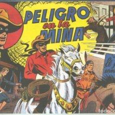 Cómics: EL LLANERO SOLITARIO (LONE RANGER) FACSIMIL: PELIGRO EN LA MINA. Lote 171805227