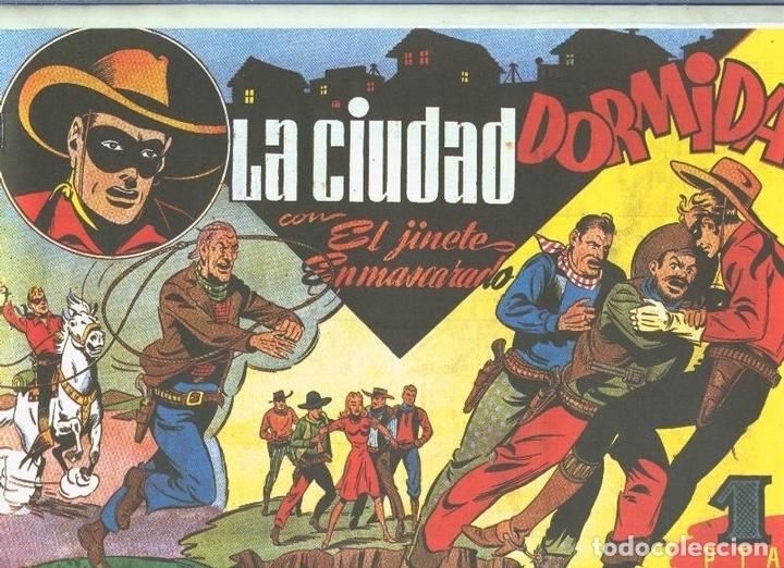 EL LLANERO SOLITARIO (LONE RANGER) FACSIMIL LA CIUDAD DORMIDA (Tebeos y Comics Pendientes de Clasificar)