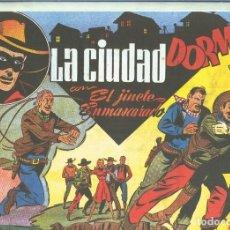 Cómics: EL LLANERO SOLITARIO (LONE RANGER) FACSIMIL LA CIUDAD DORMIDA. Lote 171805233