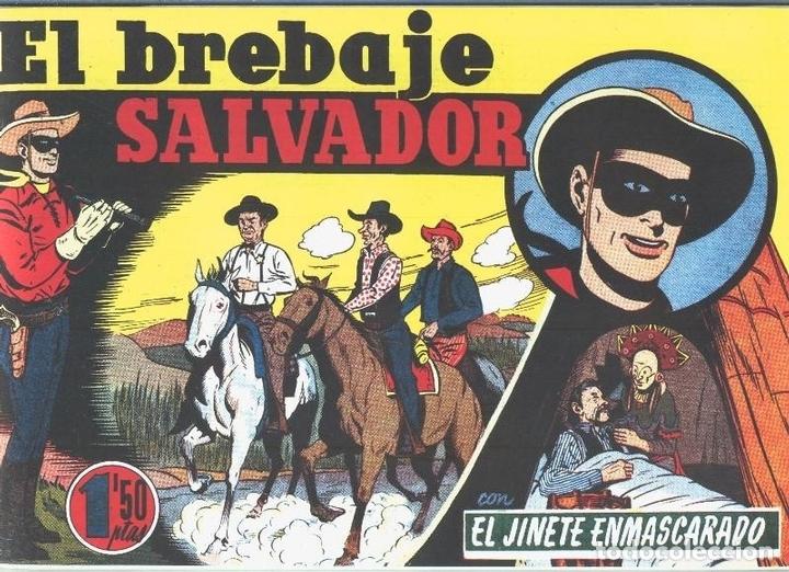EL LLANERO SOLITARIO (LONE RANGER) FACSIMIL: EL BREBAJE SALVADOR (Tebeos y Comics Pendientes de Clasificar)