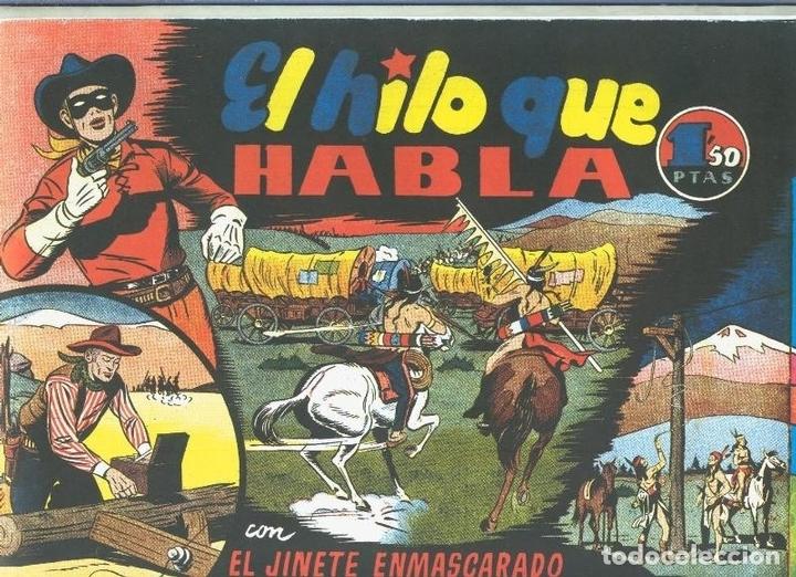 EL LLANERO SOLITARIO (LONE RANGER) FACSIMIL: EL HILO QUE HABLA (Tebeos y Comics Pendientes de Clasificar)