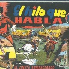 Cómics: EL LLANERO SOLITARIO (LONE RANGER) FACSIMIL: EL HILO QUE HABLA. Lote 171805297