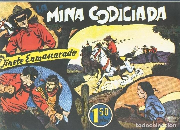 EL LLANERO SOLITARIO (LONE RANGER) FACSIMIL: LA MINA CODICIADA (Tebeos y Comics Pendientes de Clasificar)