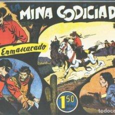 Cómics: EL LLANERO SOLITARIO (LONE RANGER) FACSIMIL: LA MINA CODICIADA. Lote 171805328