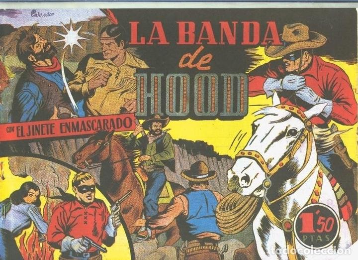 EL LLANERO SOLITARIO (LONE RANGER) FACSIMIL: LA BANDA DE HOOD (Tebeos y Comics Pendientes de Clasificar)