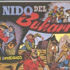 Cómics: EL LLANERO SOLITARIO (LONE RANGER) FACSIMIL: EL NIDO DEL BUHARRO. Lote 171805393
