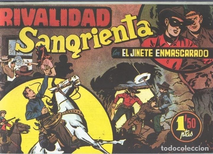 EL LLANERO SOLITARIO (LONE RANGER) FACSIMIL: RIVALIDAD SANGRIENTA (Tebeos y Comics Pendientes de Clasificar)