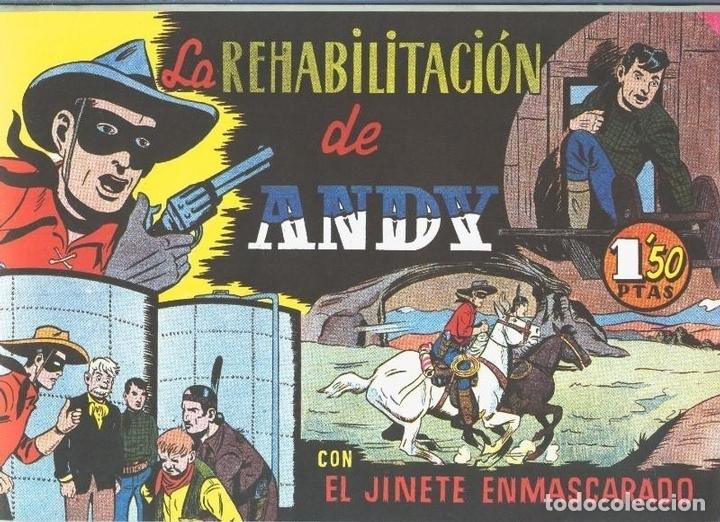 EL LLANERO SOLITARIO (LONE RANGER) FACSIMIL: LA REHABILITACION DE ANDY (Tebeos y Comics Pendientes de Clasificar)