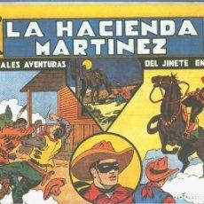 Cómics: EL LLANERO SOLITARIO (LONE RANGER) FACSIMIL: LA HACIENDA MARTINEZ. Lote 171805490