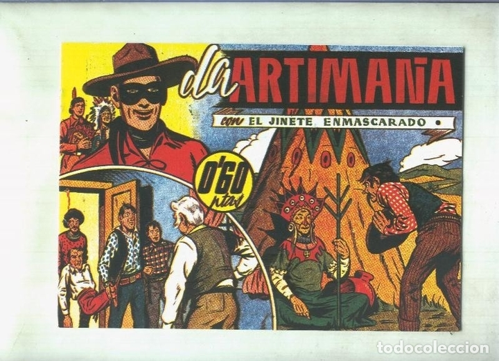 EL LLANERO SOLITARIO (LONE RANGER) FACSIMIL: LA ARTIMAÑA (Tebeos y Comics Pendientes de Clasificar)
