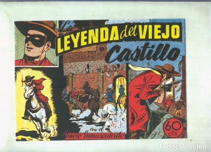 EL LLANERO SOLITARIO (LONE RANGER) FACSIMIL: LA LEYENDA DEL VIEJO CASTILLO (Tebeos y Comics Pendientes de Clasificar)