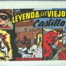 Cómics: EL LLANERO SOLITARIO (LONE RANGER) FACSIMIL: LA LEYENDA DEL VIEJO CASTILLO. Lote 171805663