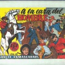 Cómics: EL LLANERO SOLITARIO (LONE RANGER) FACSIMIL: A LA CAZA DEL HOMBRE. Lote 171805674