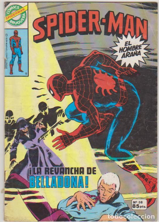 Cómics: Spiderman. Bruguera 1980. Nº 38 - Foto 1 - 171981568