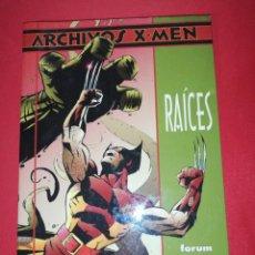 Cómics: ARCHIVOS X-MEN, RAÍCES, JOHN BYRNE . Lote 172033558