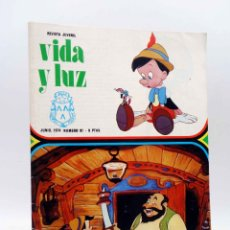 Comics: VIDA Y LUZ REVISTA JUVENIL 81 (VVAA) LA SALLE, 1974. Lote 172058217