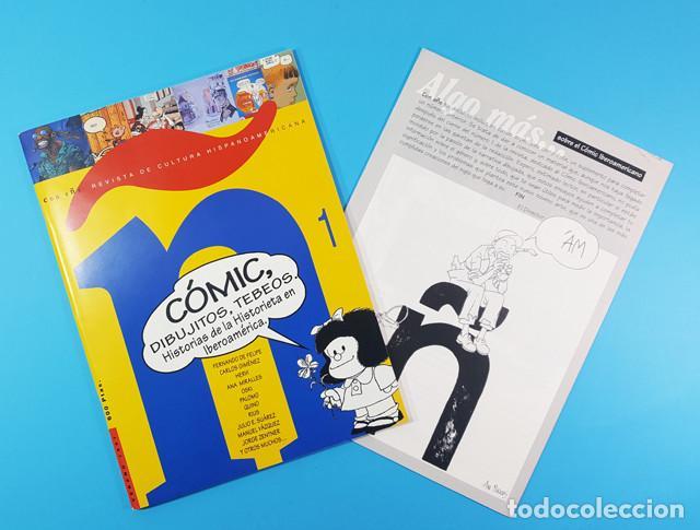 CON EÑE REVISTA DE CULTURA HISPANOAMERICANA, COMIC DIBUJITOS TEBEOS Nº 1 1997 + ALGO MAS... (Tebeos y Comics - Comics otras Editoriales Actuales)