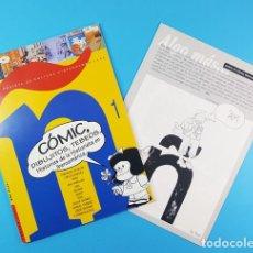 Cómics: CON EÑE REVISTA DE CULTURA HISPANOAMERICANA, COMIC DIBUJITOS TEBEOS Nº 1 1997 + ALGO MAS.... Lote 172064508