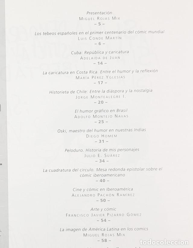 Cómics: CON EÑE REVISTA DE CULTURA HISPANOAMERICANA, COMIC DIBUJITOS TEBEOS Nº 1 1997 + ALGO MAS... - Foto 2 - 172064508