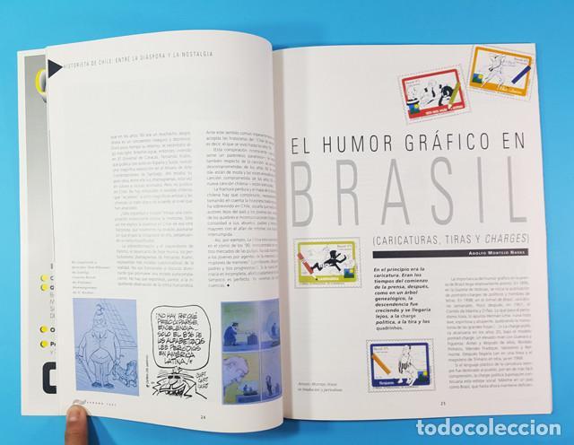 Cómics: CON EÑE REVISTA DE CULTURA HISPANOAMERICANA, COMIC DIBUJITOS TEBEOS Nº 1 1997 + ALGO MAS... - Foto 3 - 172064508
