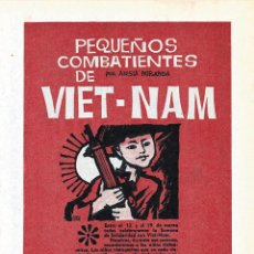 Cómics: PEQUEÑOS COMBATIENTES DE VIET-NAM ILUSTRADO X JAN AUTOR DE SUPERLOPEZ SUPER LOPEZ NUMERADO VIETMAN. Lote 194913050