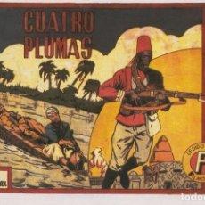 Cómics: FACSIMIL: SELECCION AVENTURERA: LAS CUATRO PLUMAS. Lote 191585730