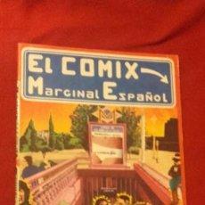 Cómics: EL COMIX MARGINAL ESPAÑOL - COMIC UNDERGROUND - ED. PRODUCCIONES EDITORIALES - RUSTICA. Lote 172122513