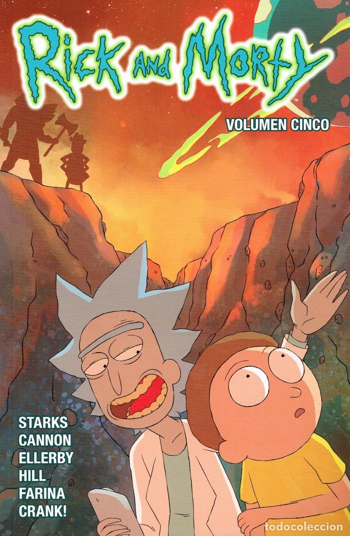 RICK AND MORTY.VOL.5.NORMA EDITORIAL (Tebeos y Comics Pendientes de Clasificar)