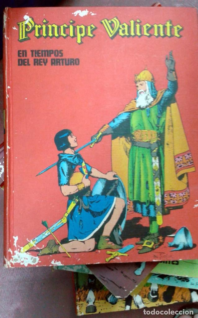 Cómics: El príncipe Valiente, de Harold Foster. Colección completa 8 tomos. Buru-Lan - Foto 4 - 172221334