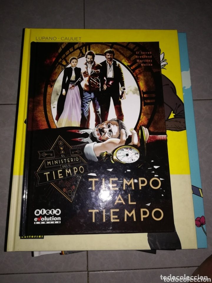 EL MINISTERIO DEL TIEMPO-TIEMPO AL TIEMPO-ALETA (Tebeos y Comics - Comics otras Editoriales Actuales)
