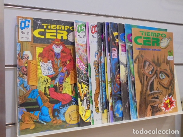 Cómics: TIEMPO CERO COMPLETA 11 NUMEROS - MC EDICIONES - OCASION - Foto 2 - 172235799