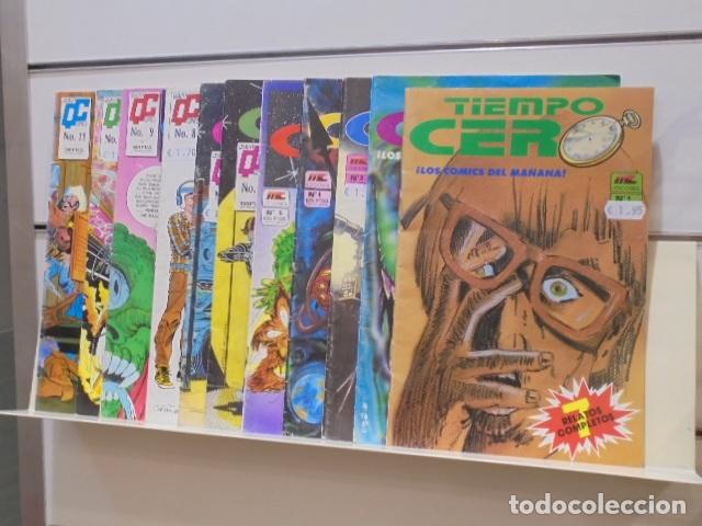 TIEMPO CERO COMPLETA 11 NUMEROS - MC EDICIONES - OCASION (Tebeos y Comics - Comics otras Editoriales Actuales)
