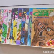 Cómics: TIEMPO CERO COMPLETA 11 NUMEROS - MC EDICIONES - OCASION. Lote 172235799