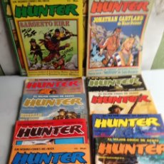 Fumetti: HUNTER , COLECCION COMPLETA EN 12 EJEMPLARES - EDITA : RIEGO EDICIONES. Lote 172307740
