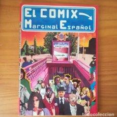 Cómics: EL COMIX MARGINAL ESPAÑOL, PRODUCCIONES EDITORIALES 1976. UNDERGROUND CEESEPE MAXKIM NAZARIO.... Lote 172328805