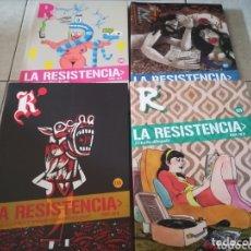 Cómics: LA RESISTENCIA TOMOS 6,7,8 Y 9 + TOMO 1 DE REGALO POR LA COMPRA-DIBBUKS. Lote 172225418