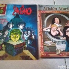 Cómics: EL ÚLTIMO CROMO Y MISIÓN MURILLO-CNV. Lote 172349855