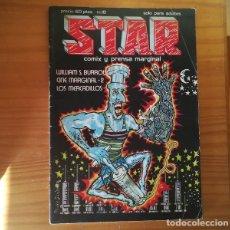 Cómics: STAR 18 PRODUCCIONES EDITORIALES 1976 REVISTA UNDERGROUND COMIX MAX, WILLIAM S. BURROUGHS.... Lote 172381450