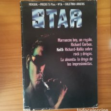 Cómics: STAR 36 PRODUCCIONES EDITORIALES 1977 REVISTA UNDERGROUND COMIX RICHARD CORBEN, KEITH RICHARDS.... Lote 172381540