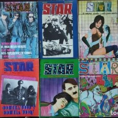 Cómics: STAR. REVISTA DE CÓMIC. LOTE DE 10 NÚMEROS.. Lote 172409307